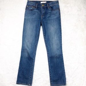 Tory Burch mid rise straight leg jeans size 26